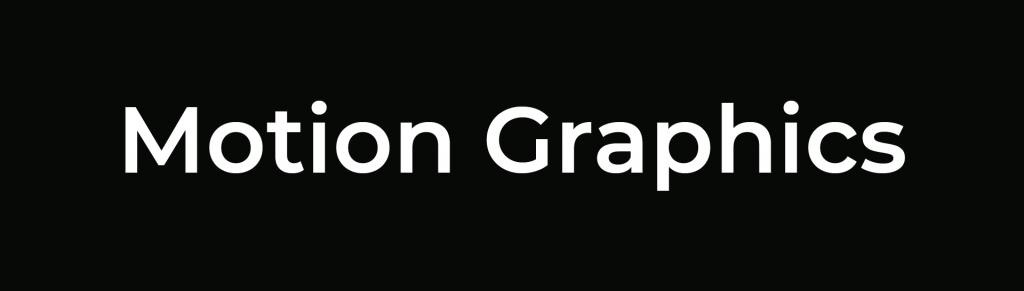 icon motion graphics